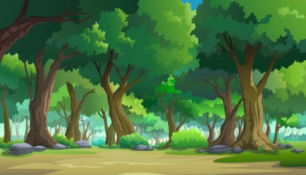 Forest Background Cartoon stock photos and royalty free images vectors and illustrations Adobe Stock