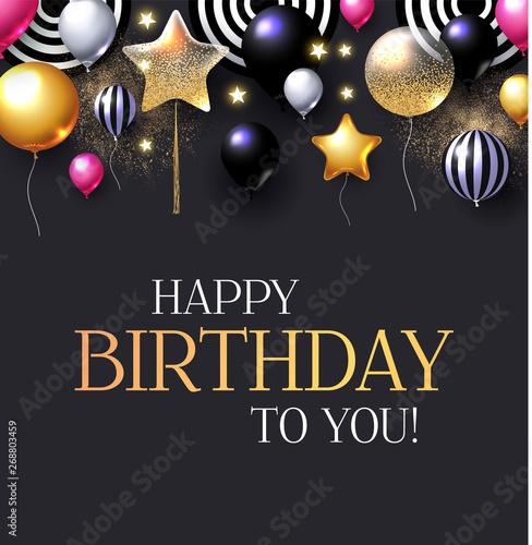 happy birthday congratulations card