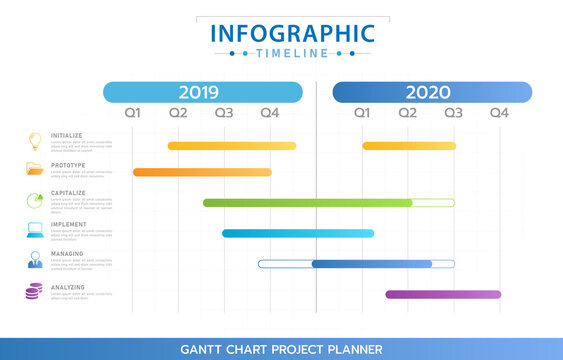 Change up the copy and font. 152 Best Gantt Chart Template Images Stock Photos Vectors Adobe Stock