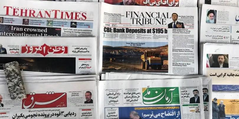 Plusieurs sites internet de médias d'Etat iraniens bloqués par la justice américaine