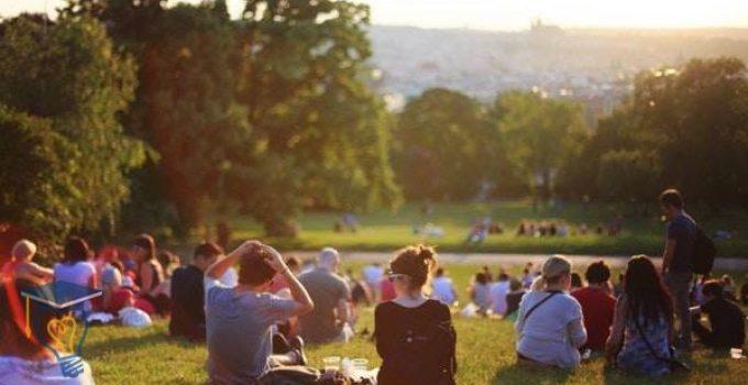 موضوع تعبير عن الحدائق العامة بالعناصر
