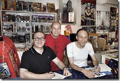 (v.l.) Hannes Neubauer, Ekki und YKA