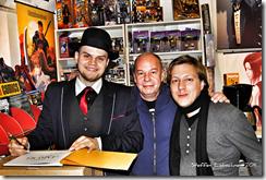 (v.l.) Felix Mertikat, Ekki und Benjamin Schreuder