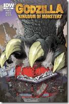 Godzilla - Exklusives T3-Cover