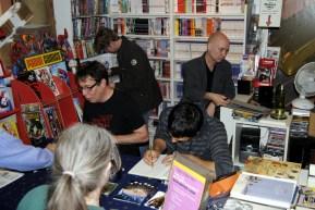 (von vorne links) Rautie, Rudy Eizenhöfer, Moritz von Wolzogen, Gerald Eskuche