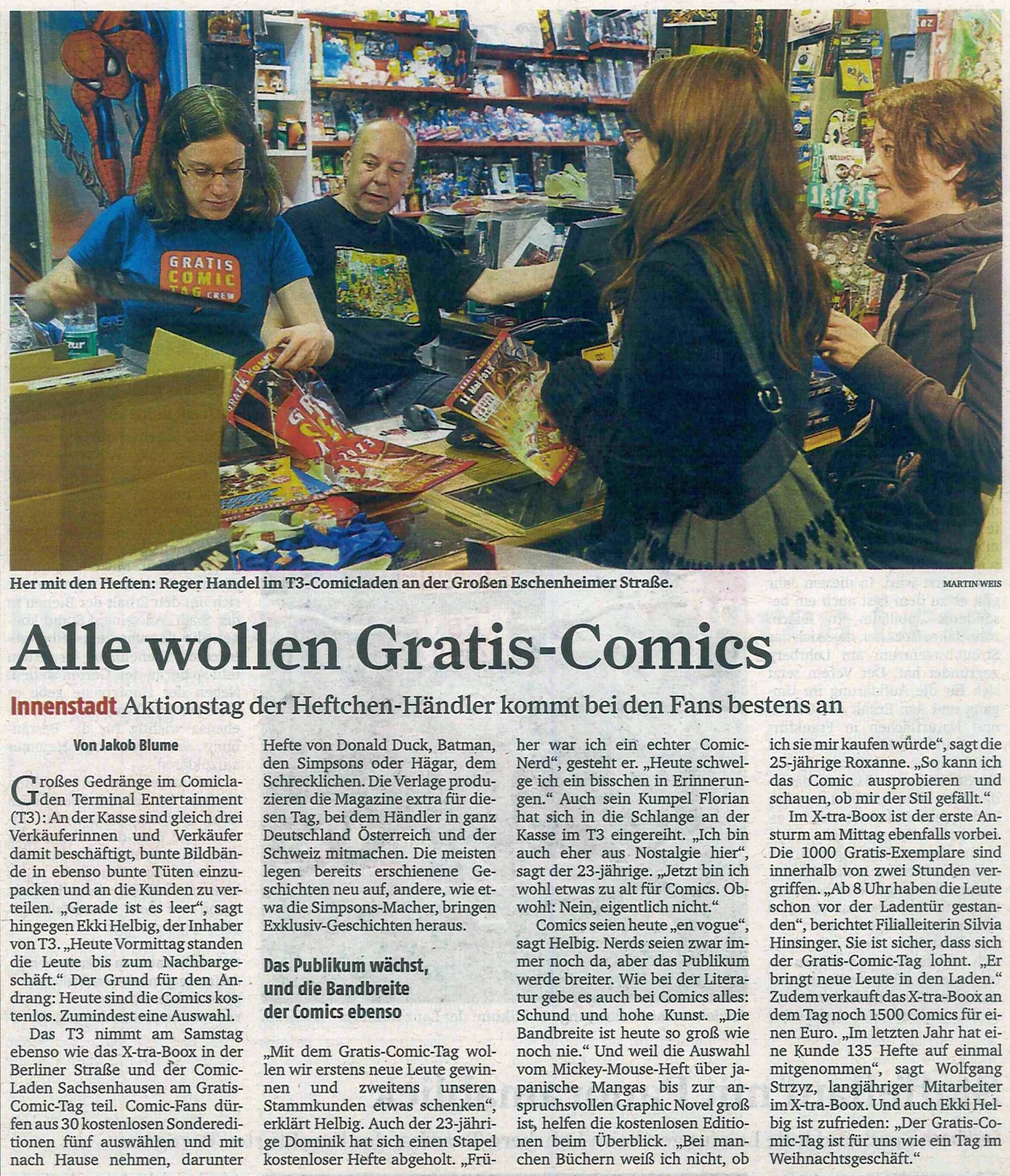 Frankfurter Rundschau vom 13.05.2013