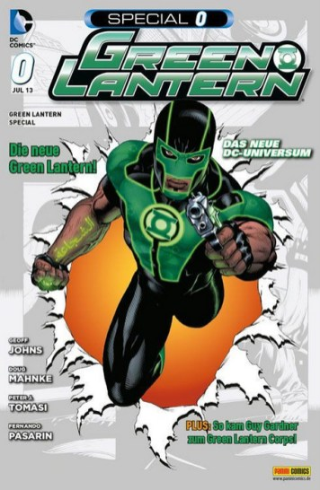 DC Zero 1: Green Lantern Special 0