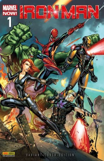 Iron Man/Hulk 1 (Variant)