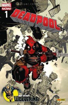 Wolverine/Deadpool 1 Marvel Now! Variant lim. 777 Ex.
