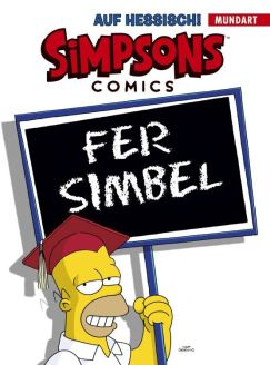 """Simpsons Comics : """"Fer Simbel"""" Mundart-Buch auf Hessisch"""