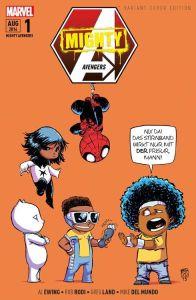Mighty Avengers 1: Urbane Helden (Variant Cover)