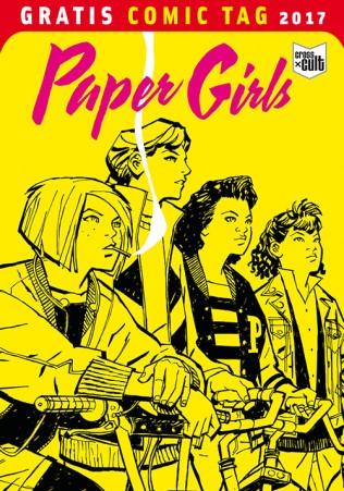 PAPER GIRLS CROSS CULT