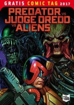 PREDATOR VS. JUDGE DREDD VS. ALIENS CROSS CULT
