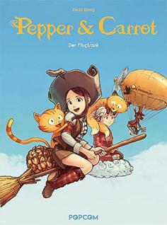 Pepper & Carrot, Band 1
