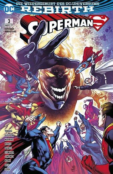 Superman Sonderband (Rebirth) 3: Supermen aus aller Welt