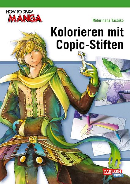 How to Draw Manga 20 / Kolorieren mit Copic