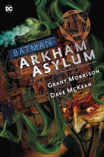 Batman Deluxe HC: Arkham Asylum