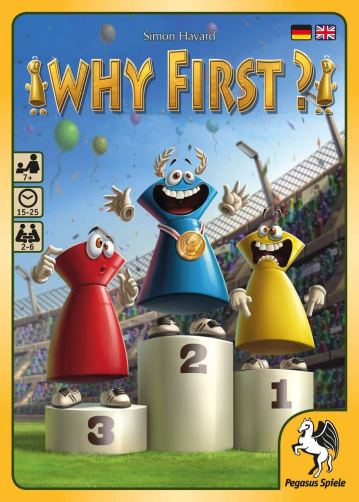 Why First? ©Pegasus Spiele