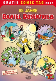 65 JAHRE DANIEL DÜSENTRIEB EGMONT COMIC COLLECTION