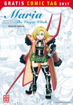 MARIA THE VIRGIN WITCH KAZÉ MANGA