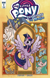 MY LITTLE PONY LEGENDS OF MAGIC #1