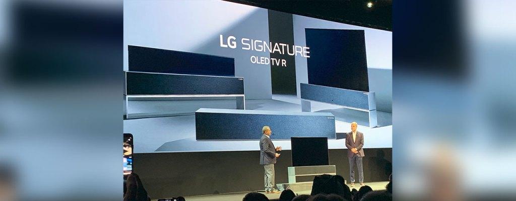 LG presenta televisiones increíbles en CES 2019
