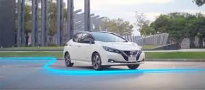 Nissan demuestra el alto desempeño de LEAF como parte de un serial