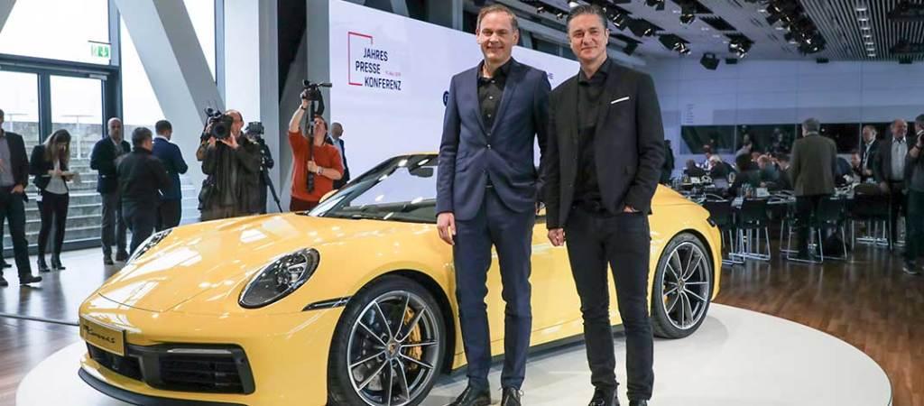 Un año sólido para Porsche: en la cima de la electromovilidad