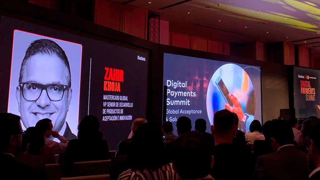 Zahir Khoja, nos platicó sobre las innovaciones de Mastercard en pagos digitales