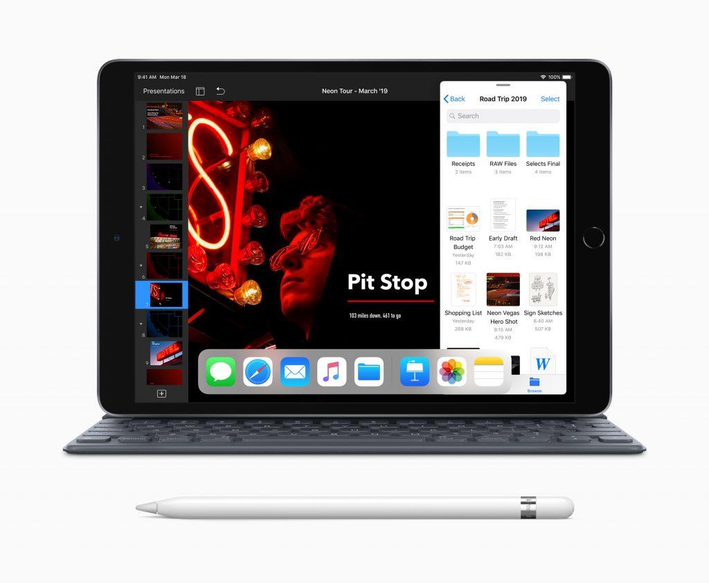 iPad Air, Smart Keyboard y Apple Pencil.