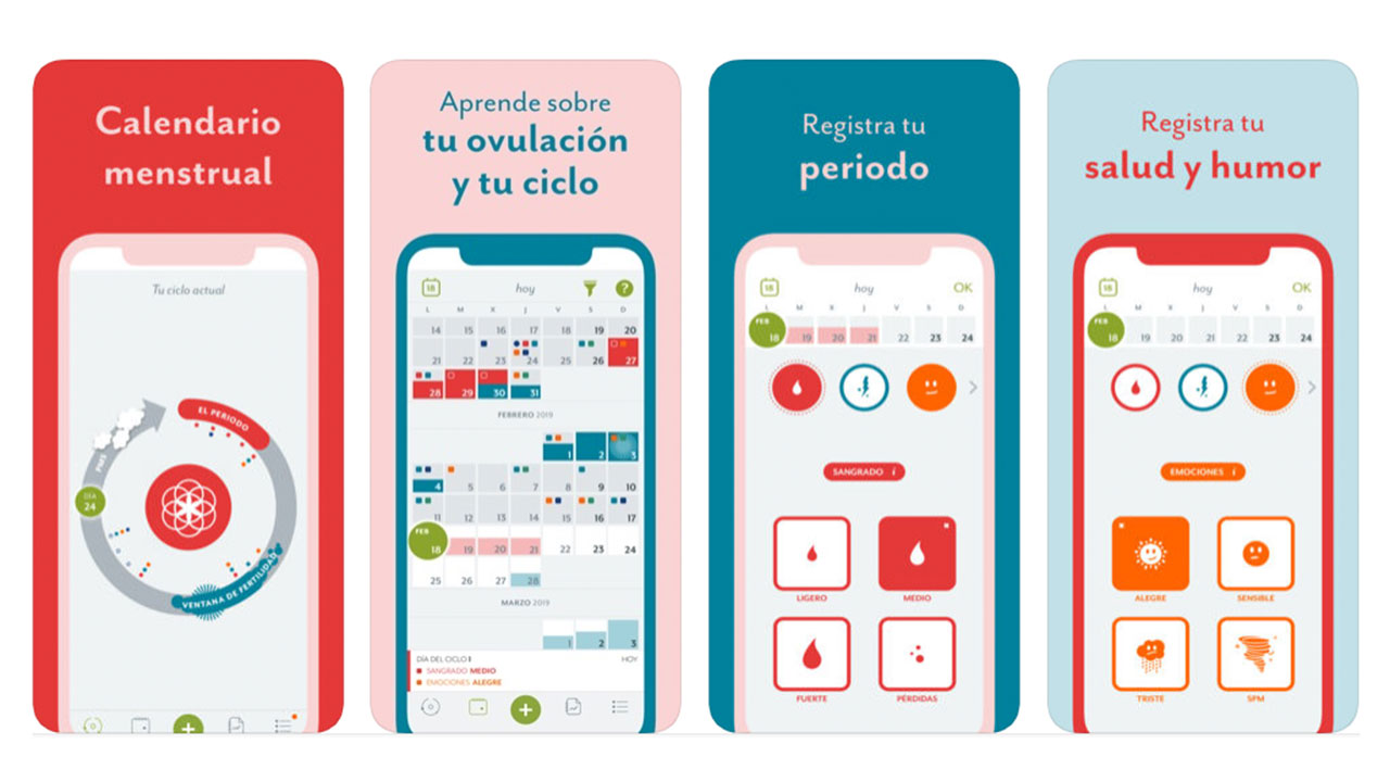 apps para el periodo menstrual