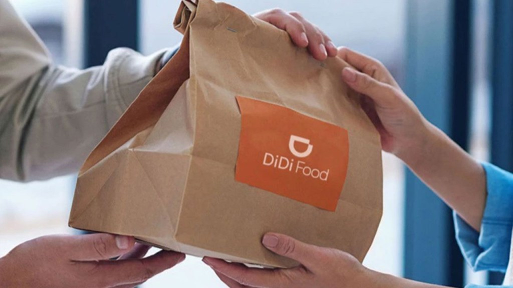DIDI Food llega a México y pone a temblar a Uber Eats