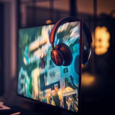 With the Beoplay Portal. Bang & Olufsen steps into gaming