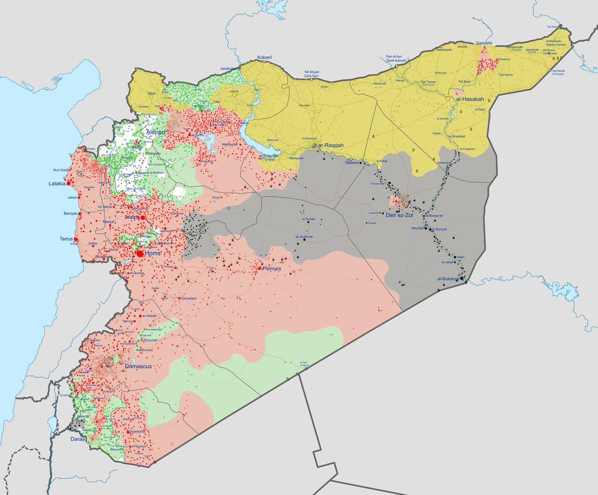 Evoluzione del conflitto in Siria
