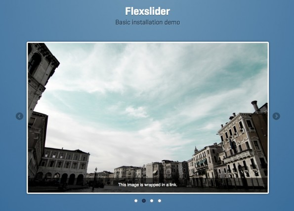 jQuery Slideshow Responsive Webdesign FlexSlider