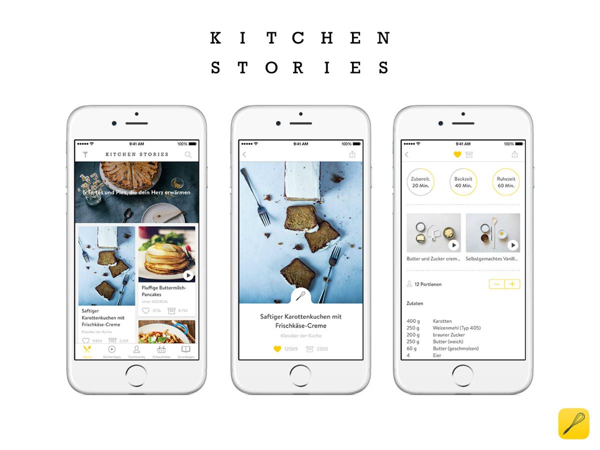 Wir htten selbst nicht in uns investiert Die Erfolgsgeschichte von Kitchen Stories in 6