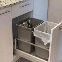 Kitchen Trash Bin Moen Single Handle Faucet 你家厨房的垃圾桶 藏 在哪里 懒人装修告诉你 太原装修 太原装修公司 如果厨房的空间允许的话 可以把垃圾桶 在一个单独设计的柜子里 利用推拉的方式来使用 这样既节省了空间 又非常的实用