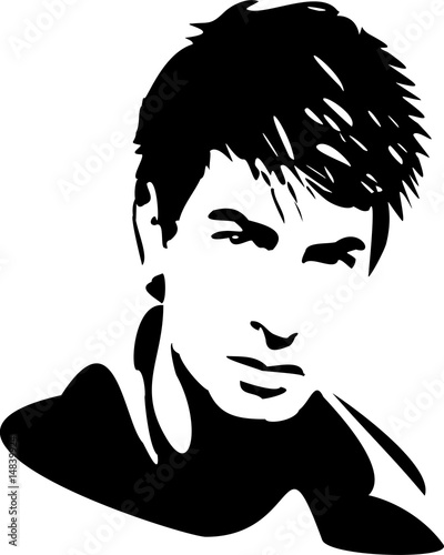 Hair Man5 Stock Image And Royalty Free Vector Files On