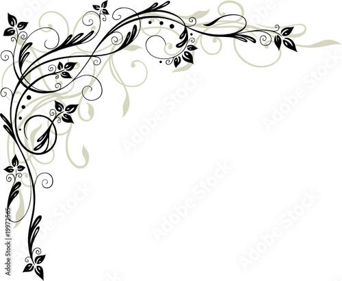 Bltter Laub Ranke filigran floral leafes autumn Stockfotos und lizenzfreie Vektoren auf