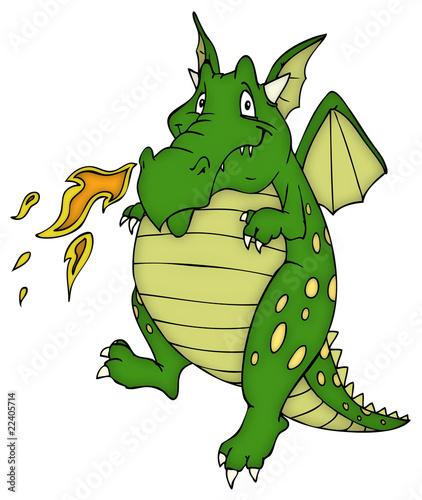 Drache Drachen Monster Echse Stockfotos Und