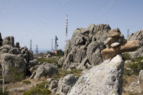 paesaggio industriale antenne radio Immagini e Fotografie Royalty Free su Fotoliacom  File 22786556