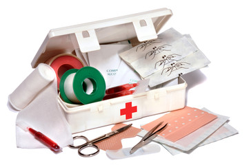 Vacances trousse pharmacie