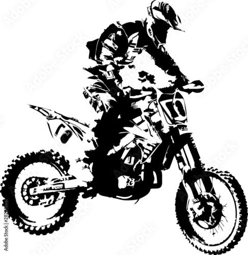 Silueta Motorista