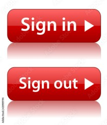 """""""""""sign in"""" & """"sign """" buttons"""