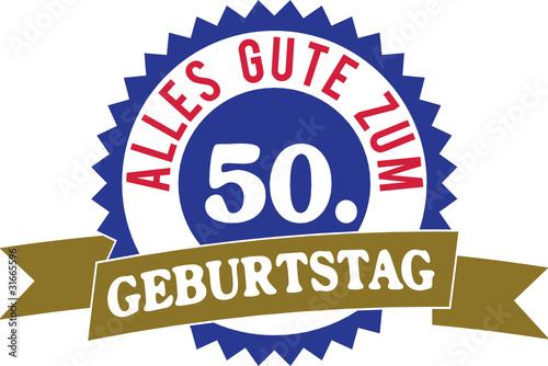 Alles Gute Zum 50 Geburtstag Stock Image And Royalty Free