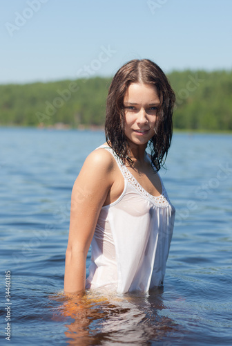 girl in wet dress Stock photo and royaltyfree images on Fotoliacom  Pic 34460385