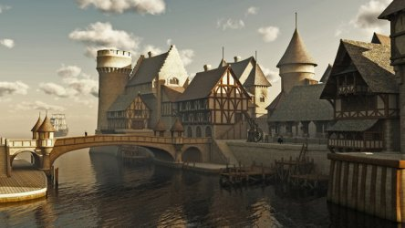 Medieval Fantasy City photos royalty free images graphics vectors & videos Adobe Stock