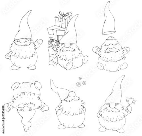 """""""Wichtel Weihnachten Weihnachtsmann Nikolaus Santa"""