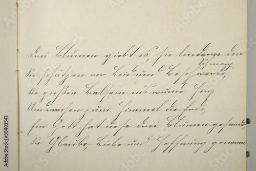 alte deutsche Schrift Stockfotos und lizenzfreie Bilder