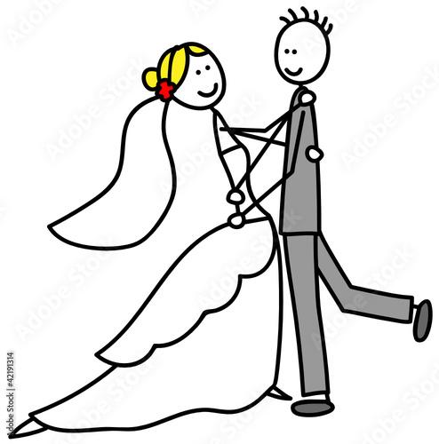 Brautpaar Stockfotos und lizenzfreie Vektoren auf